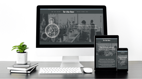 New Website Launch – The Cellar House
