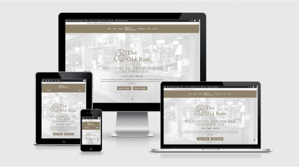 New Website Launch – The Old Ram Coaching Inn