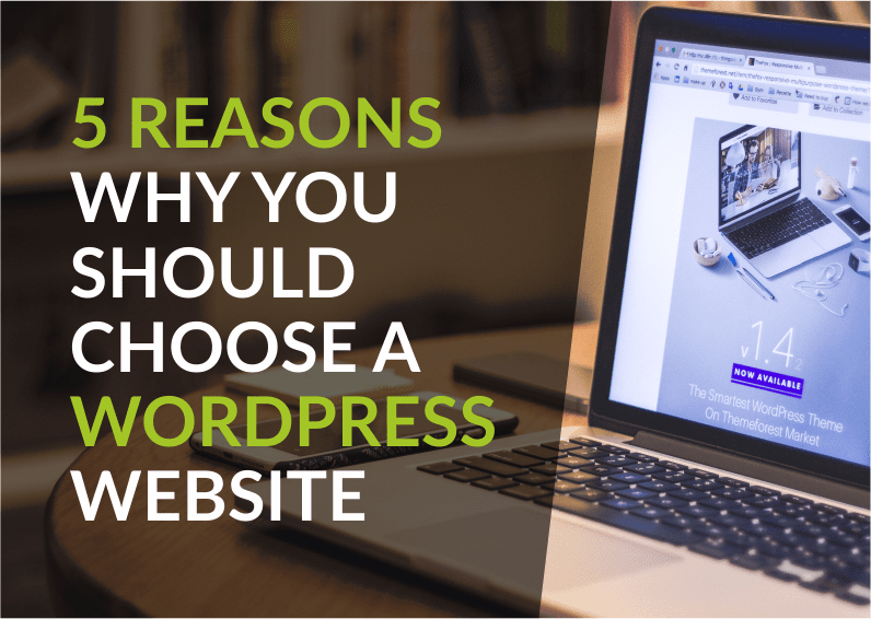 5 reasons why you should choose a WordPress website
