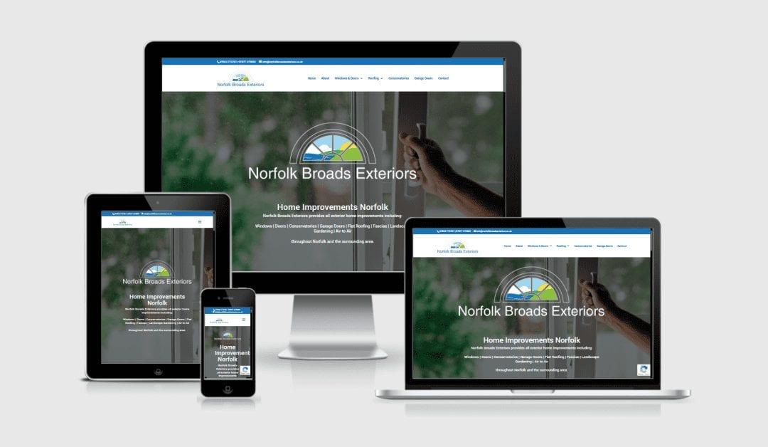 New Website Launch – Norfolk Broads Exteriors
