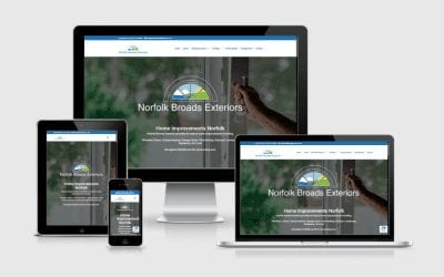 New Website Launch – Norfolk Broads Exteriors