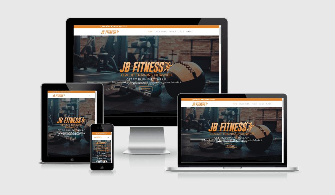 New Website Launch – JB Fitness Norwich